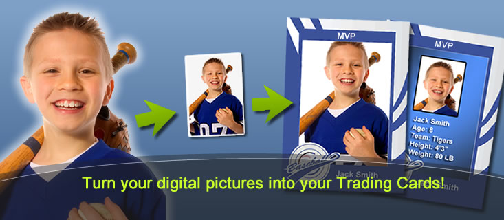 Mytradingcards Make Your Custom Trading Cards